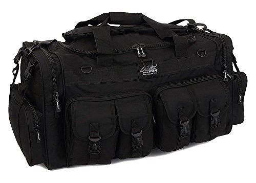 Nexpak Mens Large 30' Inch Duffel Military Molle Tactical Cargo Gear Shoulder Bag Black
