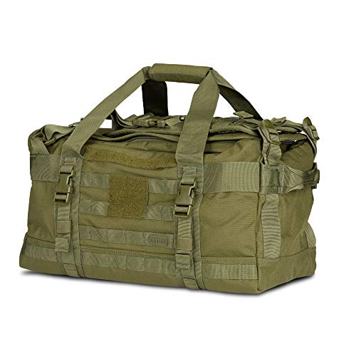 5.11 Rush LBD Mike Molle Tactical Duffel Bag Backpack, Talc OD
