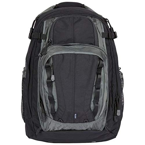 5.11 Tactical COVRT18 Covert Military Backpack, Large Assault Rucksack Pack, Style 56961, Asphalt/Black